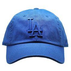 20c7c91ca7b American Needle Los Angeles Dodgers Tonal Ballpark Raglan Baseball Hat in  Royal Royal Blue