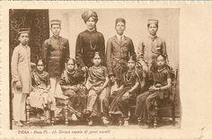 CPA Asie Inde Cinq Nouveaux Maries