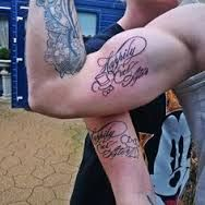 his and hers snow white tattoos - Google Search