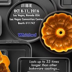 We are getting ready for tomorrow and you? International Baking Industry Exposition (IBIE)  Join us in Las Vegas for IBIE 2016 October 8  11; Booth #11747 Don't miss the biggest most comprehensive event in the U.S. for the grain-based food industry bringing together more than 20000 baking professionals from 100 different countries and every segment of the business. #IBIE2016 #bakeware #nonstick #coatings #commercial #baking #industry #tradeshow #cookware #multicoat #system #lasvegas #IBIE…