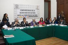 En la Asamblea Legislativa del Distrito Federal se realizo la comparecencia de la Secretaria de Cultura Lucia Garcia Noriega y Nieto ante la comision de cultura. Foto Octavio Nava/Secretaria de Cultura