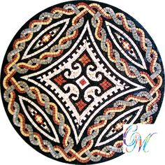 MD065 Marble Mosaic Medallion