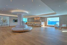 at Santa Marina Resort & Villas, Mykonos Marina Resort, Mykonos Hotels, Resort Villa, Hotels And Resorts, Villas, Santa, Mansions, Luxury, House Styles