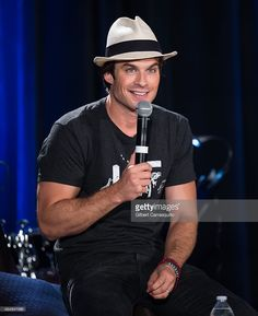 Actor Ian Somerhalder attends Wizard World Comic Con Chicago 2015 - Day 3 at Donald E. Stephens Convention Center on August 22, 2015 in Chicago, Illinois.