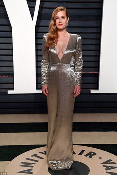 Taking the plunge:The talented actress, 42, looked incredible as she displayed extreme cl...