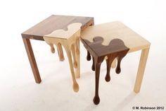 とろけるテーブル - まとめのインテリア