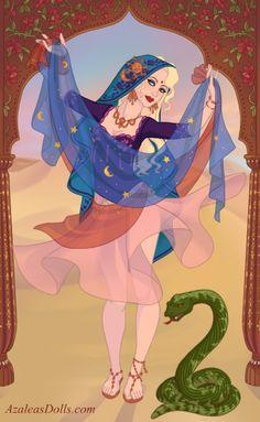 Indian Dancer (Azaleas Dolls): Me :3