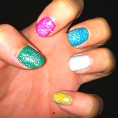Multi-color Nails