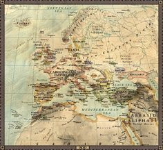 Europe in 800 by JaySimons