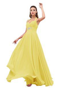 Dresstells Wedding Dresses Prom Dresses Evening Dress Reception Dresse Halter Dress => Remarkable product available now. : Prom dresses