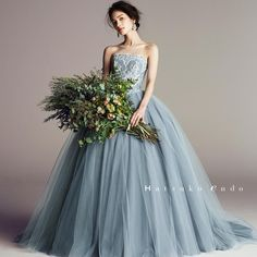 ideas dress wedding bridesmaid bouquets for 2019 Top Wedding Dress Designers, Luxury Wedding Dress, Colored Wedding Dresses, Perfect Wedding Dress, Dress Wedding, Stunning Dresses, Beautiful Gowns, Trendy Dresses, Fashion Dresses