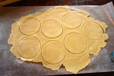Basic sweet pastry dough for empanadas