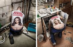 MARKUS MUELLER PHOTOGRAPHER is responsible for this rebranding of the plumber's crack.
