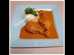 Piernas De Pollo Al Chipotle Al Estilo Carmen8a Roll Ups, Chipotle, Poultry, Turkey, Favorite Recipes, Meals, Chicken, Youtube, Healthy Recipes