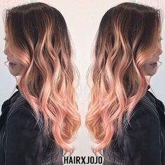 Look at this fantastic Rose Gold balayage @hairxjojo did using Pastel Red   Pastel Red is our best kept secret for Rose Gold hair! Check out our blog at overtone.co for more info.