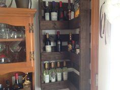 cellier à vin Liquor Cabinet, Storage, Furniture, Home Decor, Butler Pantry, Wine, Purse Storage, House Bar, Store
