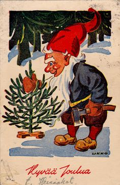 "HANS BJÖRKLIND ""UKKO"" - 106951943635258866150 - Picasa-verkkoalbumit Scandinavian Christmas, Gnomes, Rooster, Album, Animals, Painting, Vintage, Art, Picasa"