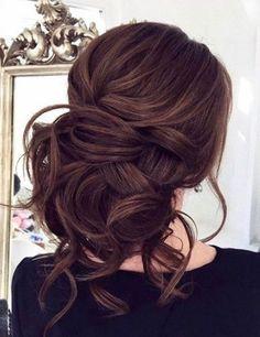 Featured Hairstyle:Elstile;www.elstile.ru; Wedding hairstyle idea. #weddinghairstyles