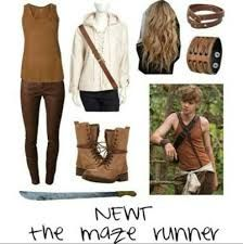 Image result for maze runner newt clothes style