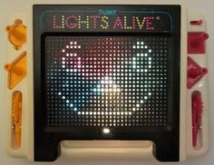 Tomy Lights Alive Toy from the 1980s.
