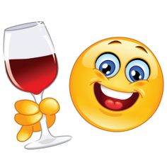 emoji with wine glass Animated Emoticons, Funny Emoticons, Smileys, Wütender Smiley, Smiley Emoticon, Smiley Faces, Emoji Images, Emoji Pictures, Funny Emoji Faces