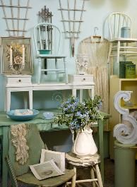 shabby chic indie style booth - Google Search