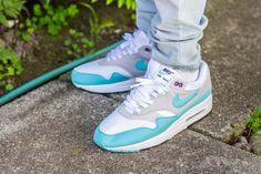 9596a54f327a Nike Air Max 1 Aqua Anniversary On Feet Sneaker Review