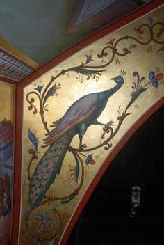 Artw ruso Byzantine Architecture, Historical Architecture, Art And Architecture, Byzantine Icons, Byzantine Art, Gold Leaf Art, Art Icon, Orthodox Icons, Illuminated Letters