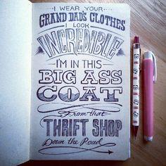 thrift shop :)