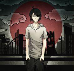 Araragi kun by Sammara-Eron on DeviantArt Monogatari Series, Dark Anime, Manga Anime, Illustration Art, Deviantart, Artist, Squad, Crushes, Husband