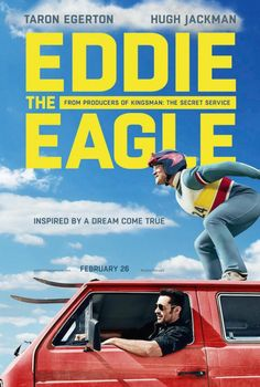 Eddie The Eagle - Directed by Dexter Fletcher. With Taron Egerton, Hugh Jackman, Tom Costello, Jo Hartley. The story of Eddie Edwards, the notoriously tenacious British underdog ski jumper who charmed the world at the 1988 Winter Olympics. Streaming Movies, Hd Movies, Movies To Watch, Movies Online, Movies And Tv Shows, Movie Tv, 2016 Movies, Movies Free, Hd Streaming