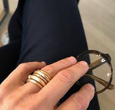 Nature rings stacked and styled by CL. Jewelry Rings, Jewelery, Fine Jewelry, Nature Collection, Jewelry Collection, Charlotte, Rings For Men, Instagram Posts, Accessories
