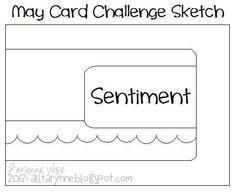 May Card Challenge Sketch - Scrapbook.com