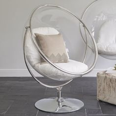 Lovely Eero Aarnio Designed The Original Hanging Bubble Chair As A Chair With The  Light Inside It, A Transparent Ball Where Light Comes From All Directions.