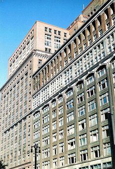 Detail: J.L. Hudson Department Store (Demolished 1998)--Detroit MI