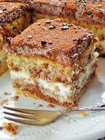 Mam coś dla małych i dużych łasuchów :) Pyszny tort z mozaikowym biszkoptem, kremem waniliowym i oczywiście z czekoladą, znalazł się w nim t...