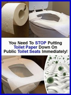 You must immediately stop putting toilet paper on public toilet seats! Read Here Why! Bathroom Seat, Toilet Paper Dispenser, Hand Dryer, Public Bathrooms, Toilet Seats, Home Remedies, Health Remedies, Door Handles, Natural Health