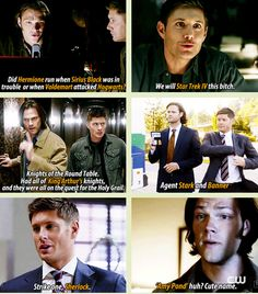 [GIFSET] Supernatural + Fandoms