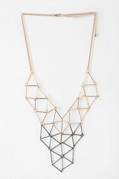 urban outfitters geometric necklaces - Pesquisa Google
