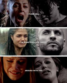 loved ones clexa linctavia finn raven