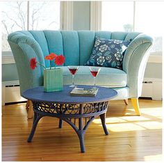 Venus Loveseat from Maine Cottage.  I think this was so appropriately named - how could I not love this little gal.