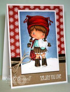 C.C. Designs Swiss Pixie Birgitta's Snow Heart by Kim O'Connell