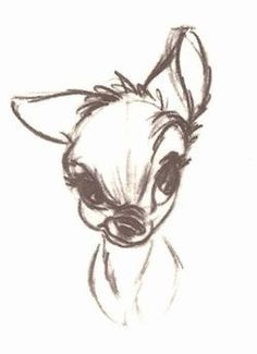 Bambi dessin facile