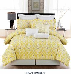 10 Piece Queen La Jolla 100% Cotton Comforter Set guest bedroom?