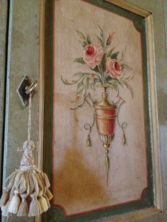 Painted furniture in Italy