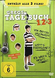 Gregs Tagebuch 1, 2 & 3 [3 DVDs] Twentieth Century Fox of Germany GmbH http://www.amazon.de/dp/B00A3O3GCM/ref=cm_sw_r_pi_dp_WioVwb13N72XM