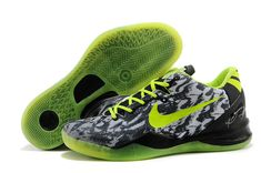 size 40 4ee55 11e0c Really Cheap Kobe 2018 Cheapest Kobe 8 Mens Graffiti Cool Grey Black Volt  Lime Green