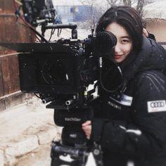 Suzy @ Dorihwaga filming