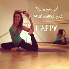 You just have one life, make sure you do what makes you happy  #embracelife #findhappinessineverysinglebreath #yoga #yogaeveryday #yogaeverywhere #yogaquote #beyogi #laiayoga