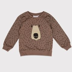 New online: Mini Rodini sweatshirt Bear www.MiniRepublic.nl